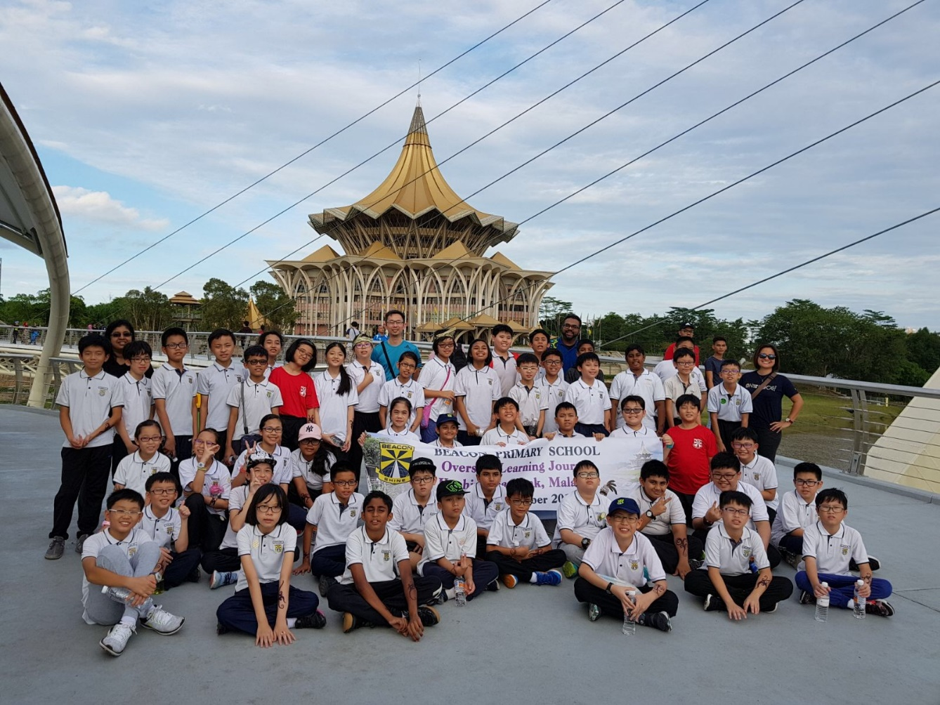 Group photo of Beacons at Sarawak