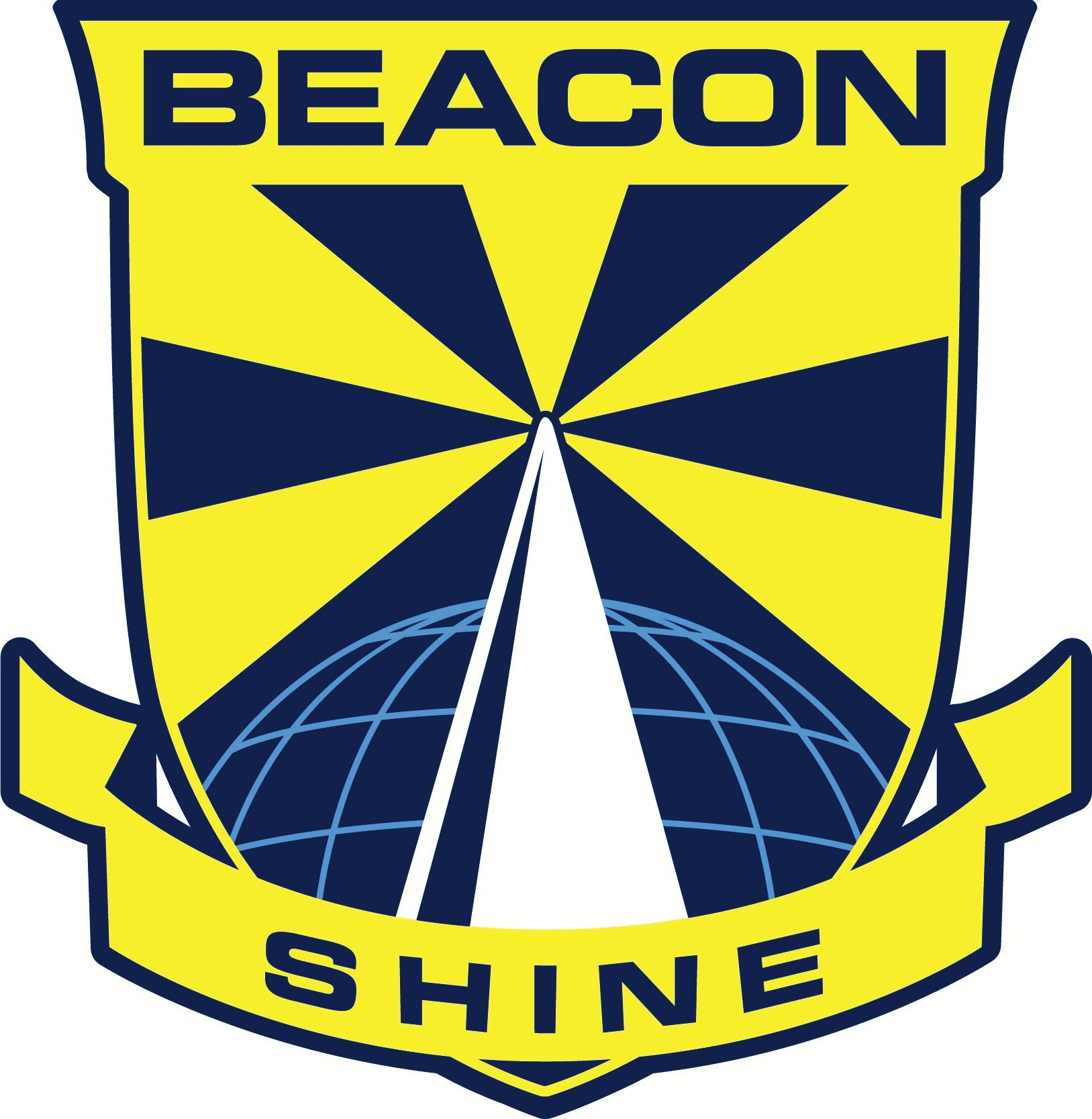 Official school crest for Beacon Primary School.